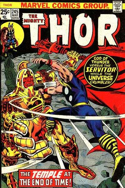 Thor #245 comic books - cover scans photos Thor #245 comic books - covers, picture gallery