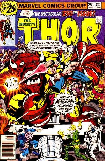 Thor #250 comic books - cover scans photos Thor #250 comic books - covers, picture gallery