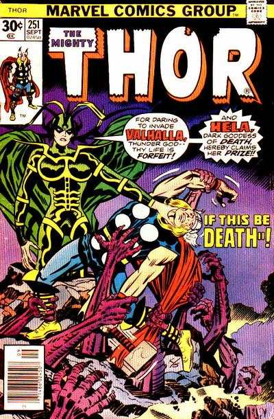 Thor #251 comic books - cover scans photos Thor #251 comic books - covers, picture gallery