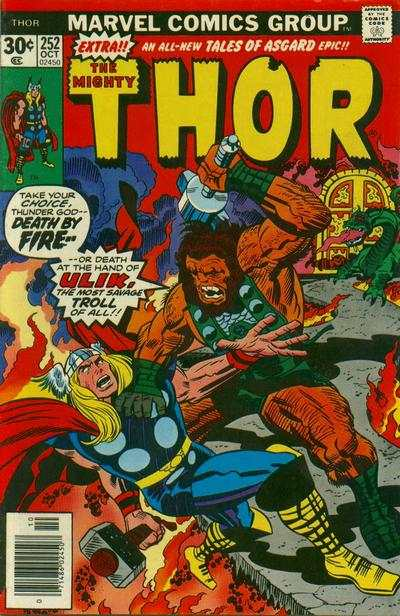 Thor #252 comic books - cover scans photos Thor #252 comic books - covers, picture gallery