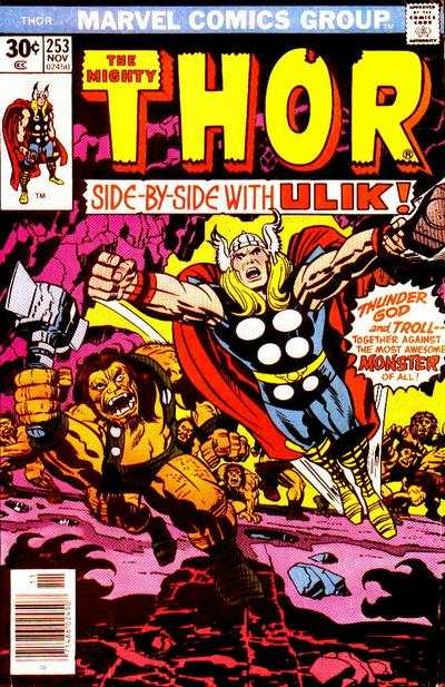 Thor #253 comic books - cover scans photos Thor #253 comic books - covers, picture gallery