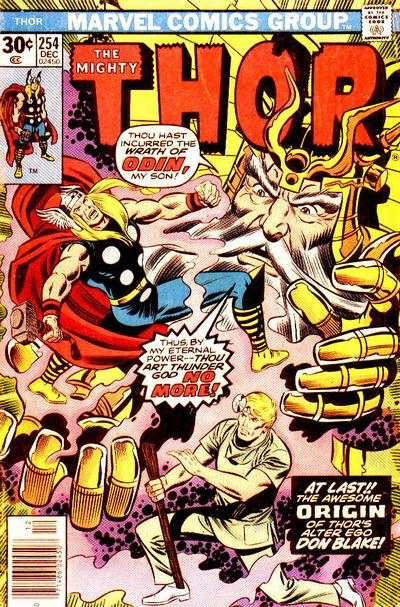 Thor #254 comic books - cover scans photos Thor #254 comic books - covers, picture gallery