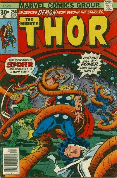 Thor #256 comic books - cover scans photos Thor #256 comic books - covers, picture gallery