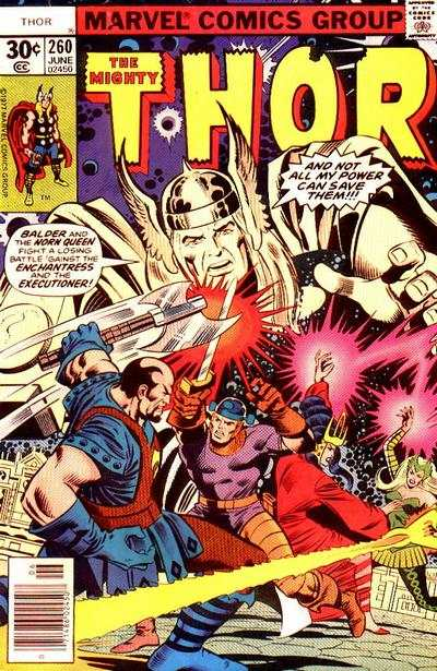 Thor #260 comic books - cover scans photos Thor #260 comic books - covers, picture gallery
