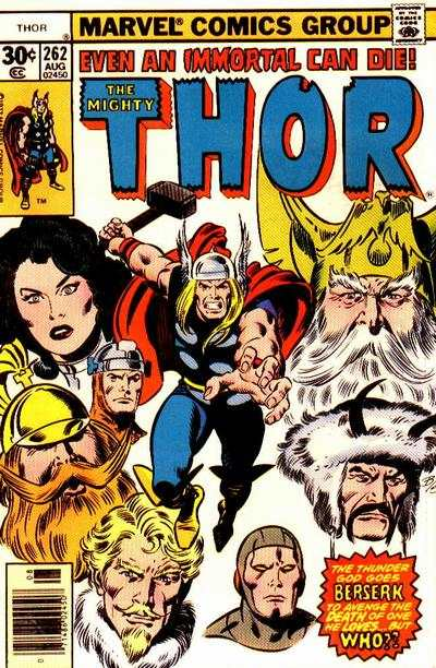 Thor #262 comic books - cover scans photos Thor #262 comic books - covers, picture gallery