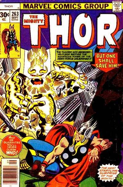Thor #263 comic books - cover scans photos Thor #263 comic books - covers, picture gallery