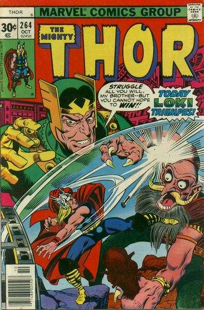 Thor #264 comic books - cover scans photos Thor #264 comic books - covers, picture gallery