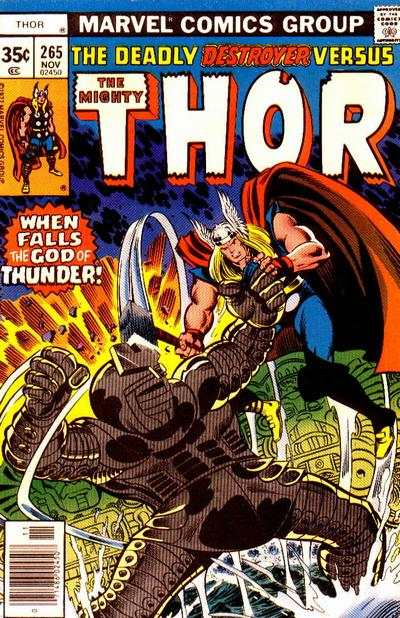 Thor #265 comic books - cover scans photos Thor #265 comic books - covers, picture gallery