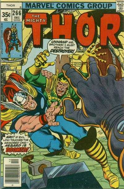 Thor #266 cheap bargain discounted comic books Thor #266 comic books