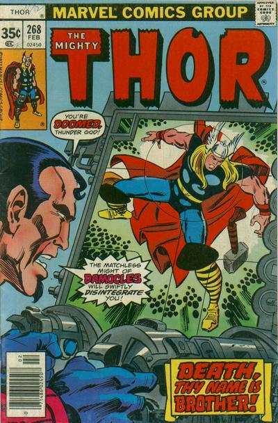 Thor #268 comic books - cover scans photos Thor #268 comic books - covers, picture gallery