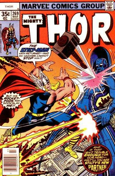 Thor #269 comic books - cover scans photos Thor #269 comic books - covers, picture gallery