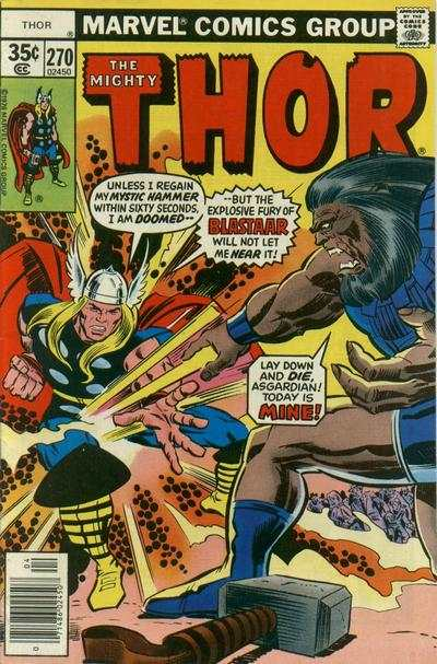 Thor #270 comic books - cover scans photos Thor #270 comic books - covers, picture gallery