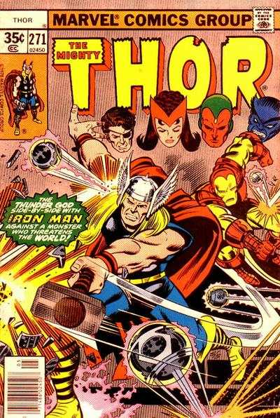 Thor #271 cheap bargain discounted comic books Thor #271 comic books