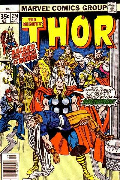 Thor #274 comic books - cover scans photos Thor #274 comic books - covers, picture gallery