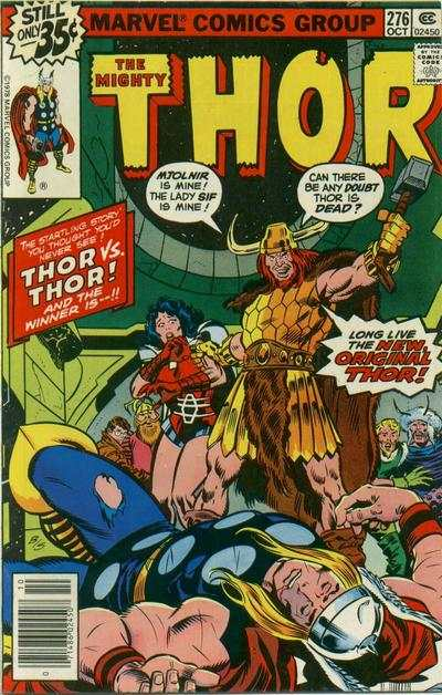 Thor #276 comic books - cover scans photos Thor #276 comic books - covers, picture gallery