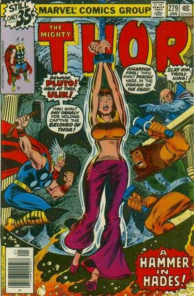 Thor #279 cheap bargain discounted comic books Thor #279 comic books