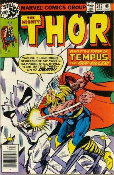 Thor #282 comic books - cover scans photos Thor #282 comic books - covers, picture gallery