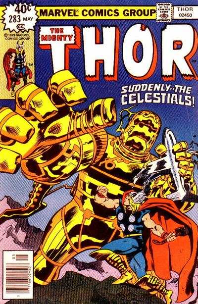 Thor #283 comic books - cover scans photos Thor #283 comic books - covers, picture gallery