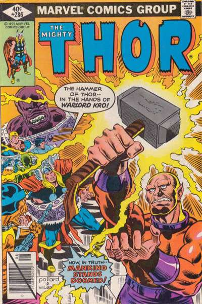 Thor #286 comic books - cover scans photos Thor #286 comic books - covers, picture gallery