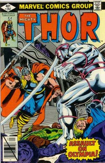 Thor #287 comic books - cover scans photos Thor #287 comic books - covers, picture gallery