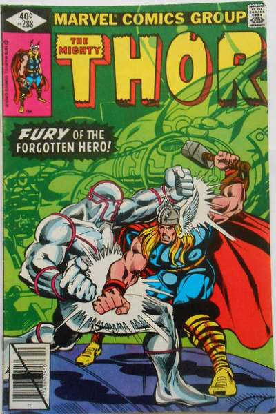 Thor #288 comic books - cover scans photos Thor #288 comic books - covers, picture gallery