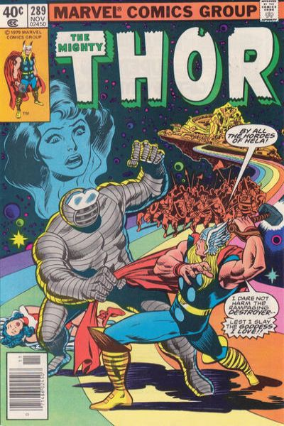 Thor #289 comic books - cover scans photos Thor #289 comic books - covers, picture gallery