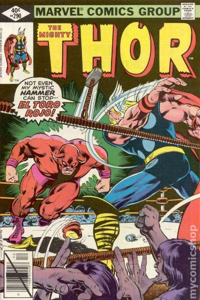 Thor #290 comic books - cover scans photos Thor #290 comic books - covers, picture gallery