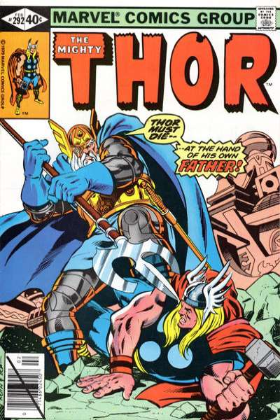 Thor #292 comic books - cover scans photos Thor #292 comic books - covers, picture gallery