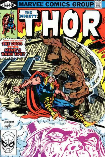 Thor #293 comic books - cover scans photos Thor #293 comic books - covers, picture gallery