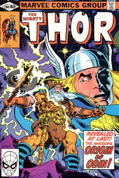 Thor #294 comic books - cover scans photos Thor #294 comic books - covers, picture gallery