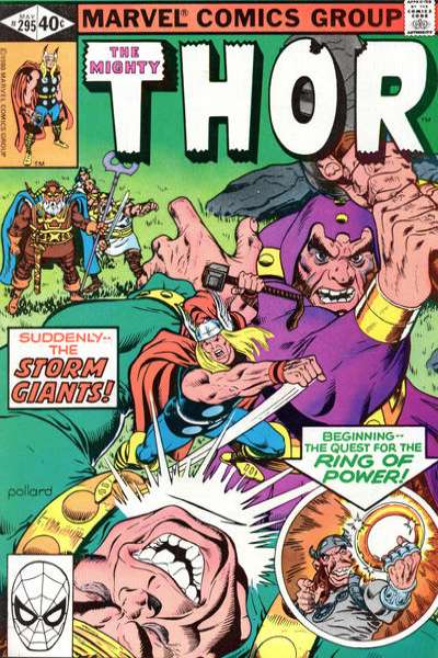 Thor #295 comic books - cover scans photos Thor #295 comic books - covers, picture gallery