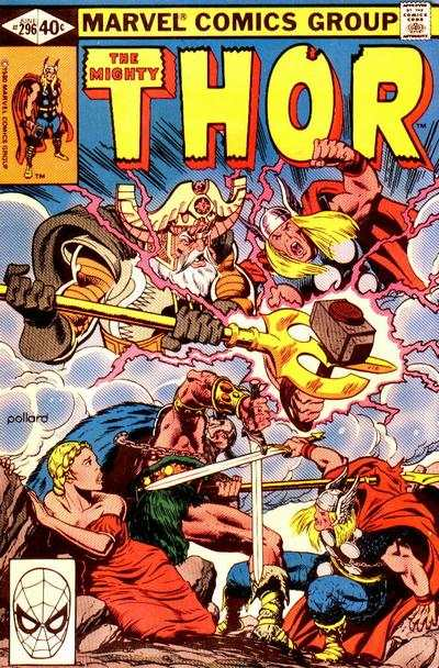 Thor #296 comic books - cover scans photos Thor #296 comic books - covers, picture gallery
