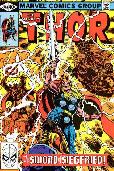 Thor #297 comic books - cover scans photos Thor #297 comic books - covers, picture gallery