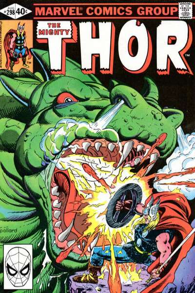 Thor #298 comic books - cover scans photos Thor #298 comic books - covers, picture gallery