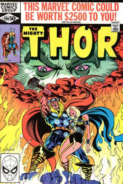 Thor #299 comic books - cover scans photos Thor #299 comic books - covers, picture gallery