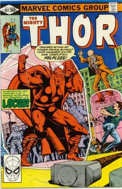 Thor #302 cheap bargain discounted comic books Thor #302 comic books