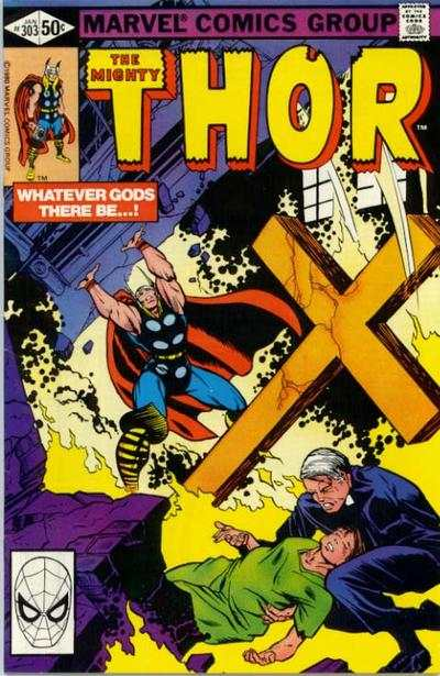 Thor #303 comic books - cover scans photos Thor #303 comic books - covers, picture gallery
