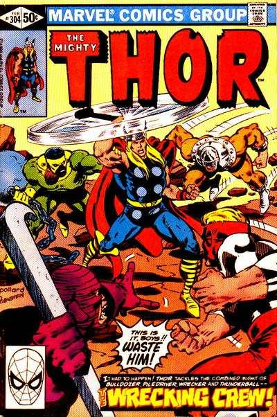 Thor #304 comic books - cover scans photos Thor #304 comic books - covers, picture gallery