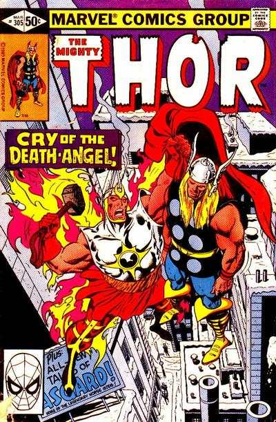 Thor #305 comic books - cover scans photos Thor #305 comic books - covers, picture gallery