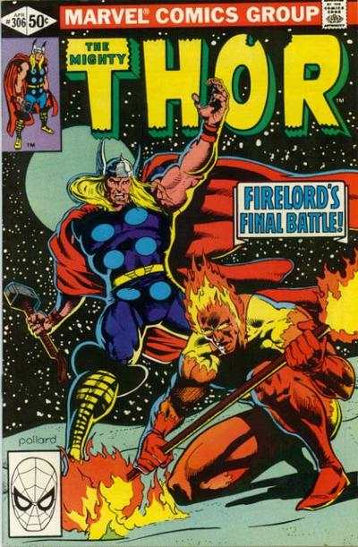 Thor #306 comic books - cover scans photos Thor #306 comic books - covers, picture gallery