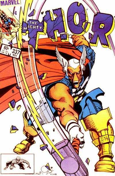Thor #337 comic books - cover scans photos Thor #337 comic books - covers, picture gallery