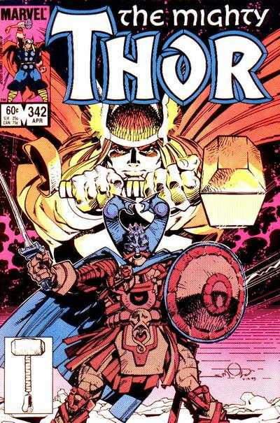 Thor #342 Comic Books - Covers, Scans, Photos  in Thor Comic Books - Covers, Scans, Gallery