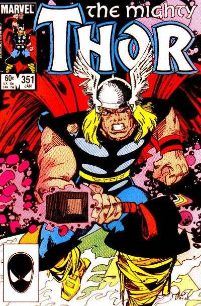 Thor #351 comic books - cover scans photos Thor #351 comic books - covers, picture gallery