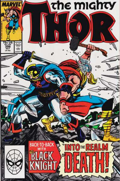 Thor #396 Comic Books - Covers, Scans, Photos  in Thor Comic Books - Covers, Scans, Gallery