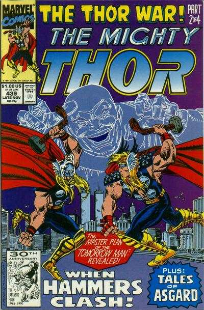Thor #439 comic books - cover scans photos Thor #439 comic books - covers, picture gallery