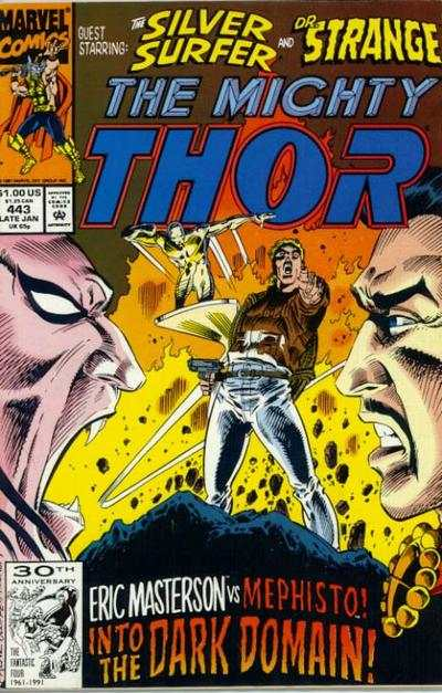 Thor #443 comic books - cover scans photos Thor #443 comic books - covers, picture gallery