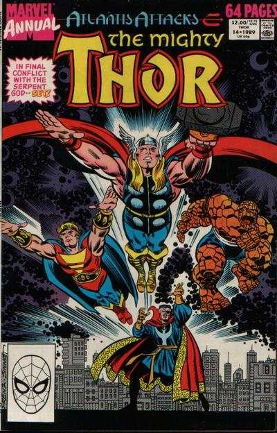 Thor #14 comic books - cover scans photos Thor #14 comic books - covers, picture gallery