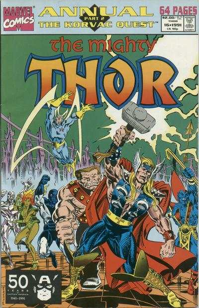 Thor #16 cheap bargain discounted comic books Thor #16 comic books