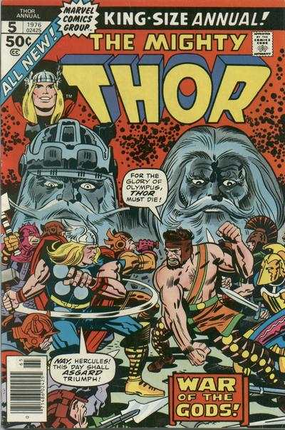 Thor #5 comic books - cover scans photos Thor #5 comic books - covers, picture gallery