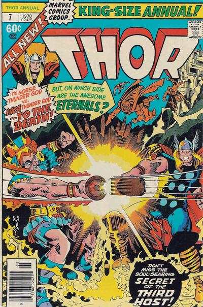 Thor #7 comic books - cover scans photos Thor #7 comic books - covers, picture gallery